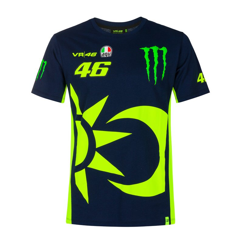 VR46 - Replica 46 Monster Energy T-Shirt