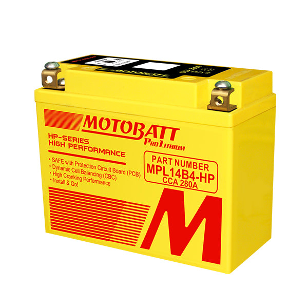 Motobatt - MPL14B4-HP Lithium Battery