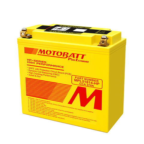 Motobatt - MPL51814-HP Lithium Battery