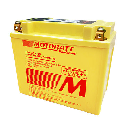 Motobatt - MPLX16U-HP Lithium Battery