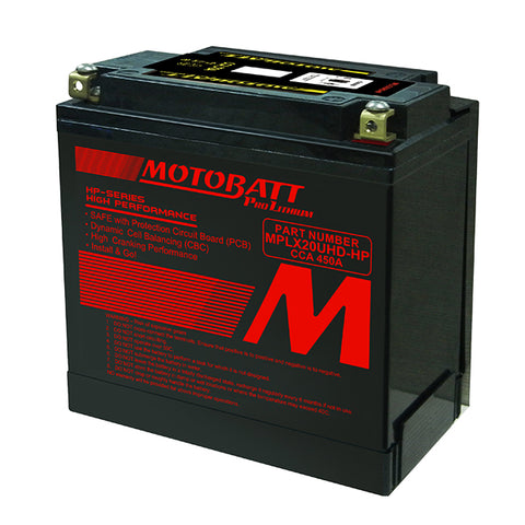 Motobatt - MPLX20UHD-HP Lithium Battery
