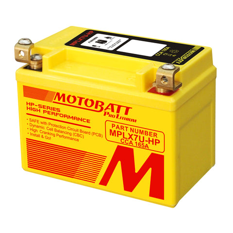 Motobatt - MPLX7U-HP Lithium Battery