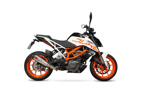 Scorpion - Serket Taper KTM 390 Duke 2017-2019 Slip-On Exhaust
