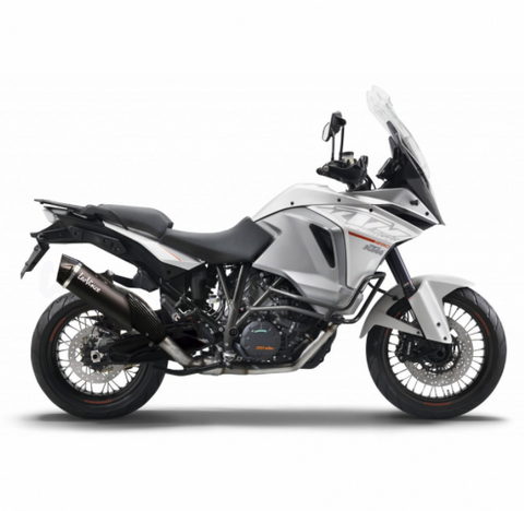 LeoVince - Nero KTM 1290 Super Adventure 2015-2016 Slip-On Exhaust