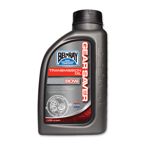 Bel Ray - Gear Saver Transmission Oil 80W