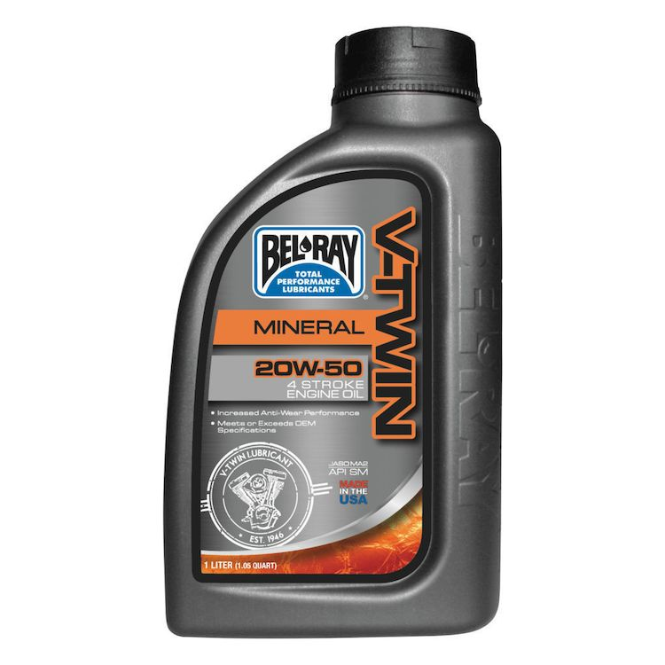 Bel Ray - V-Twin Mineral Engine Oil 20W-50