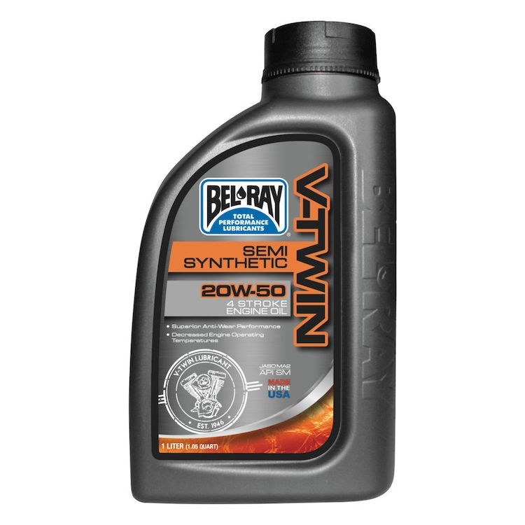 Bel Ray - V-Twin Semi-Synthetic Engine Oil 20W-50