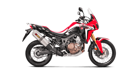Akrapovič - Honda CRF1000L Africa Twin 2016 Slip-On Exhaust (Titanium)