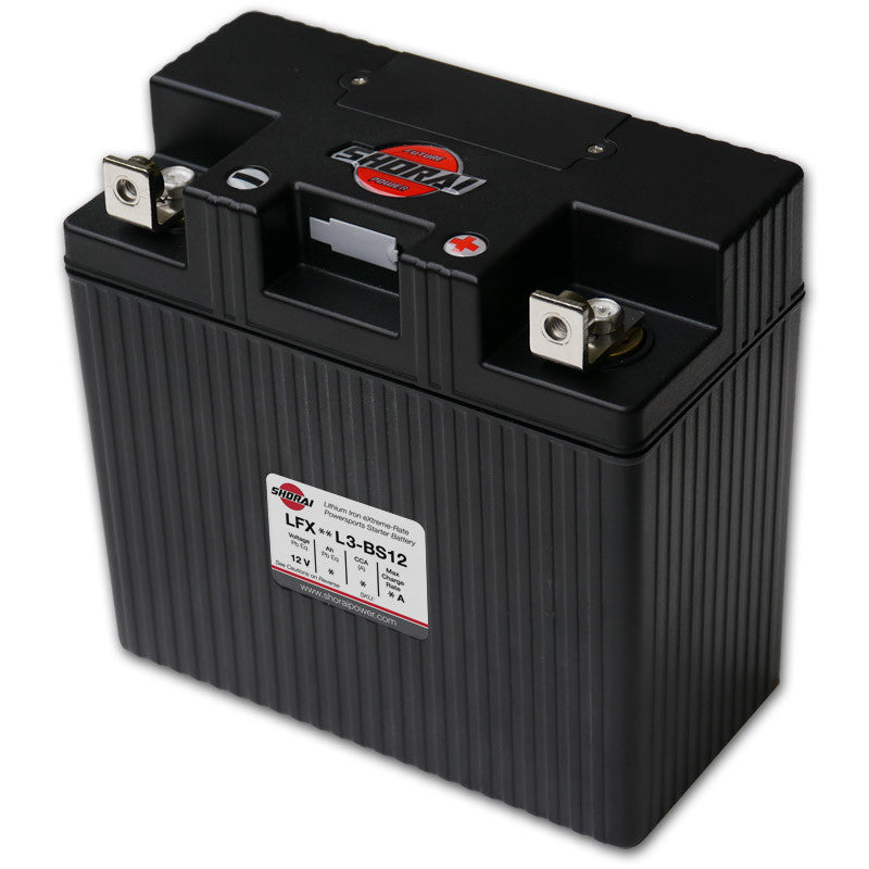 SHORAI - LFX Lithium Powersports Battery (LFX24L3-BS12)