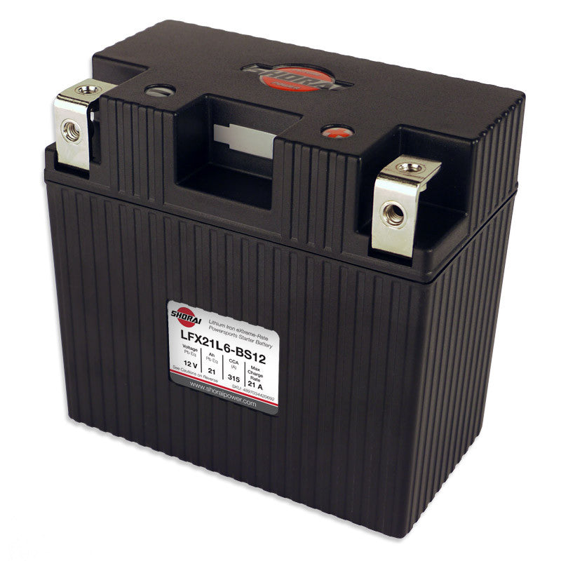 SHORAI - LFX Lithium Powersports Battery (LFX21L6-BS12)