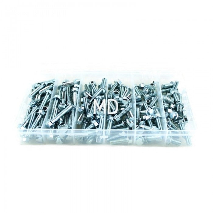 MSD Racing - M6 Assortment Bolt Kit (150 pcs)