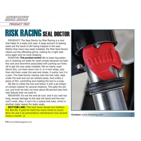 Risk Racing - Seal Doctor