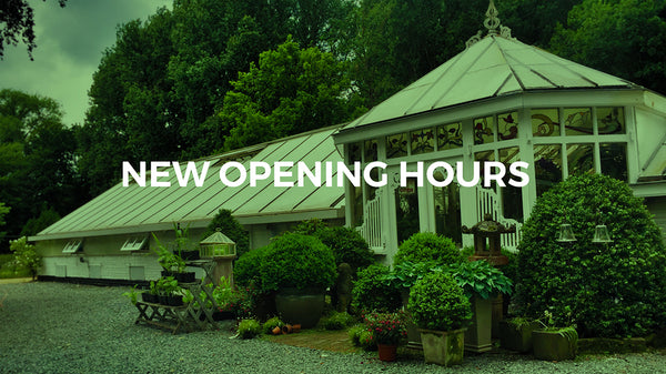 Petrens Orchid Shop - New opening hours
