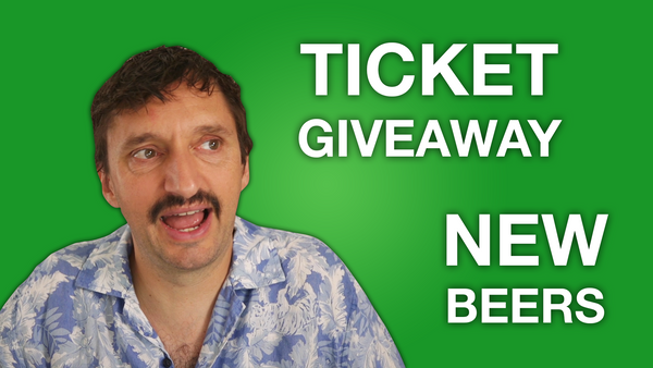 New beer and ticket giveaway