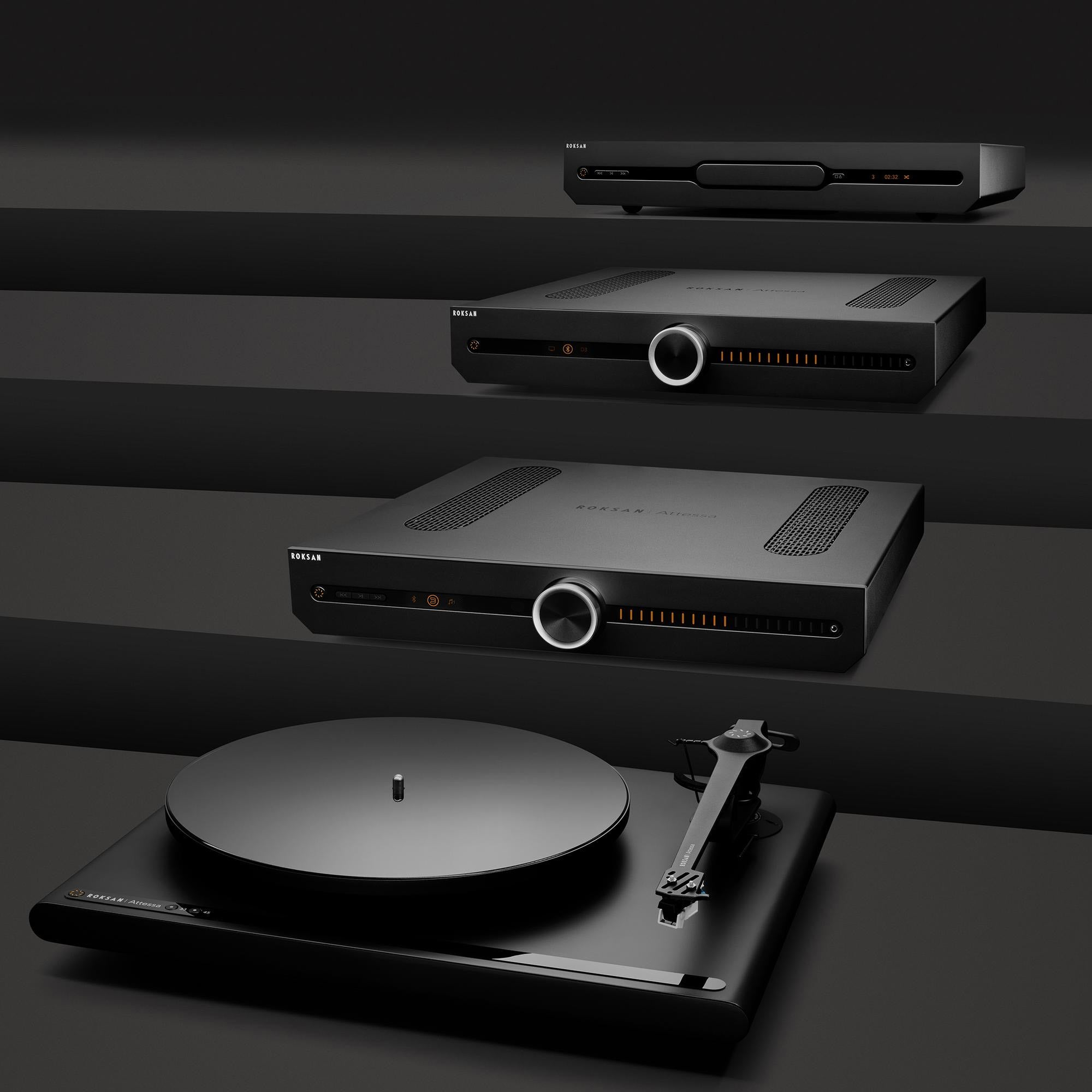 Shop the all new for 2021  Roksan Attessa Turntable at Emotivv, Cornwall