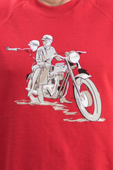 60th commemoration Sweater featuring the Bonneville T120