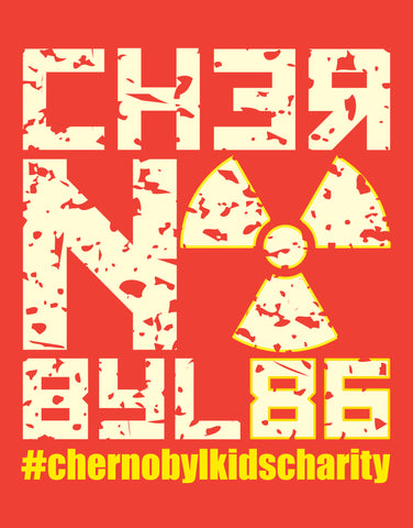Chernobyl – 33 year commemoration glow-in-the-dark T-shirt