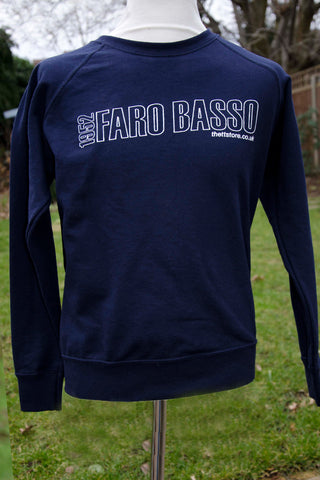 Ladies' 'Faro Basso' Lightweight Classic Navy Sweatshirt