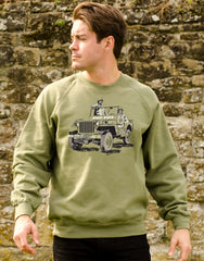 Legends & Heroes Sweater with WW2 icon and a D-Day hero