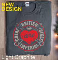 100% Imperial –  'Great British Bikes are Imperial' T-Shirt