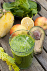 Moringa Smoothie with Citrus and Avocado