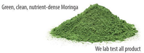 Green, fresh Moringa