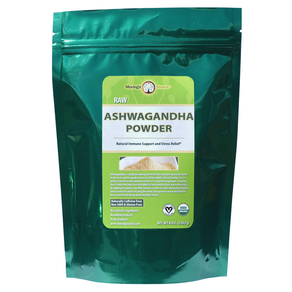 Ashwagandha Powder - 8 ounce by Moringa Source