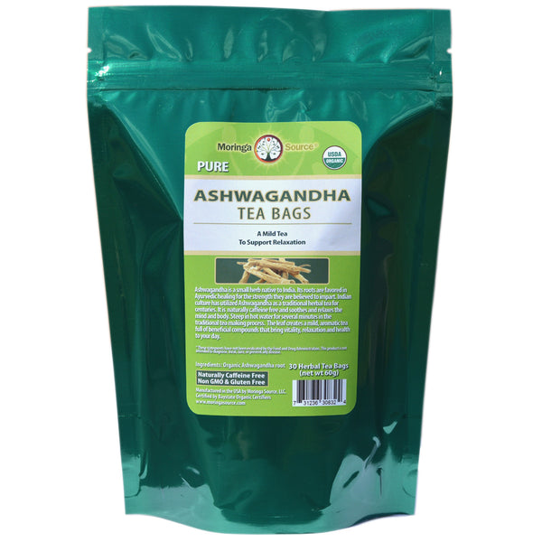 Ashwagandha Tea - 30 count by Moringa Source