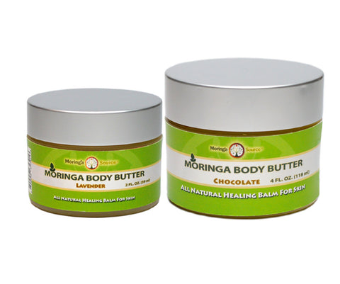 Moringa Silk Body Butter, Lavender and Chocolate