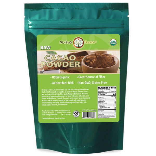 Cacao | Raw Cacao Powder | Moringa Source