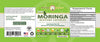 Moringa Capsule 300ct label