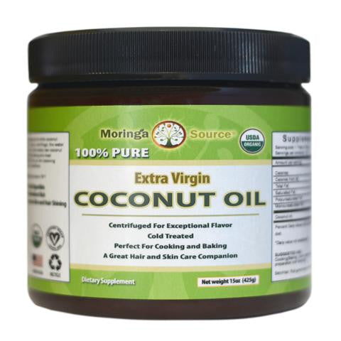 Coconut Oil USDA Organic by Moringa Source