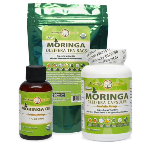 Nutritional Supplements - Moringa Combo Starter - Moringa Source