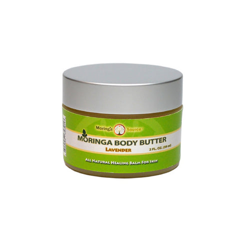 Moringa Silk Body Butter, Lavender 2 oz
