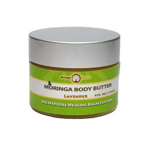 Moringa Silk Body Butter, Lavender 4 oz