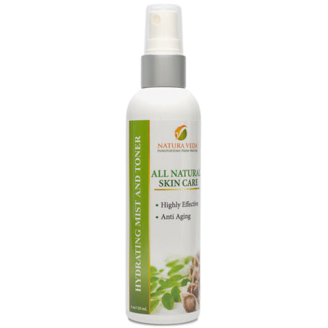 Skin Care Products - Hydrating Mist and Toner - Moringa Source