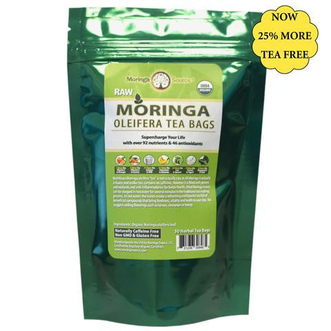 Moringa Tea 30ct USDA Organic by Moringa Source