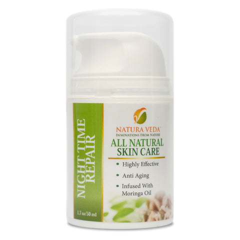Skin Care Products - Night Time Repair Cream - Moringa Source