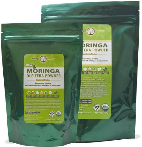 Moringa Powder USDA Organic by Moringa Source