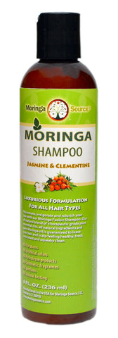 Moringa Shampoo Bottle