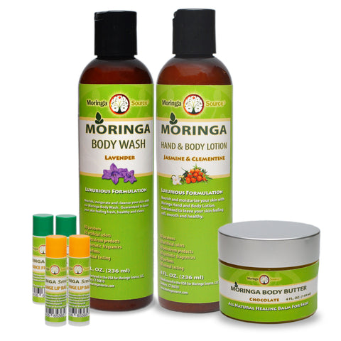 Personal Care Products - Moringa Spa Collection - Moringa Source
