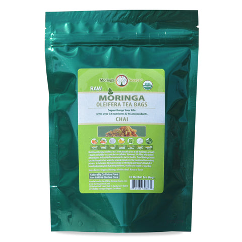 Moringa Tea - Chai - 30ct by Moringa Source