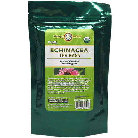 Nutritional Supplements - Echinacea Tea - 30 count - Moringa Source