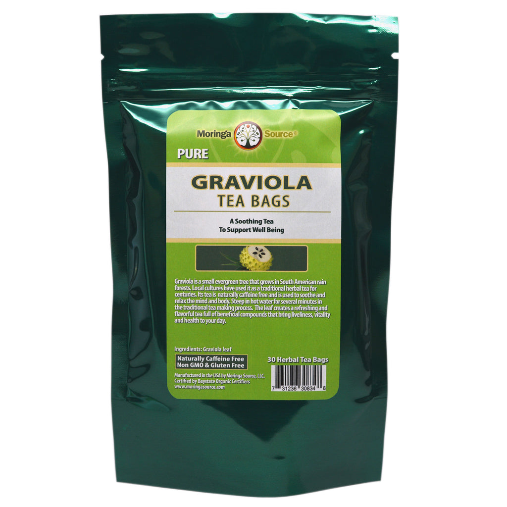 Nutritional Supplements - Graviola Tea - 30 count - Moringa Source