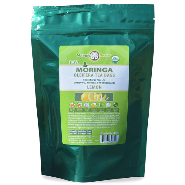 Moringa Tea - Lemon - 30ct by Moringa Source