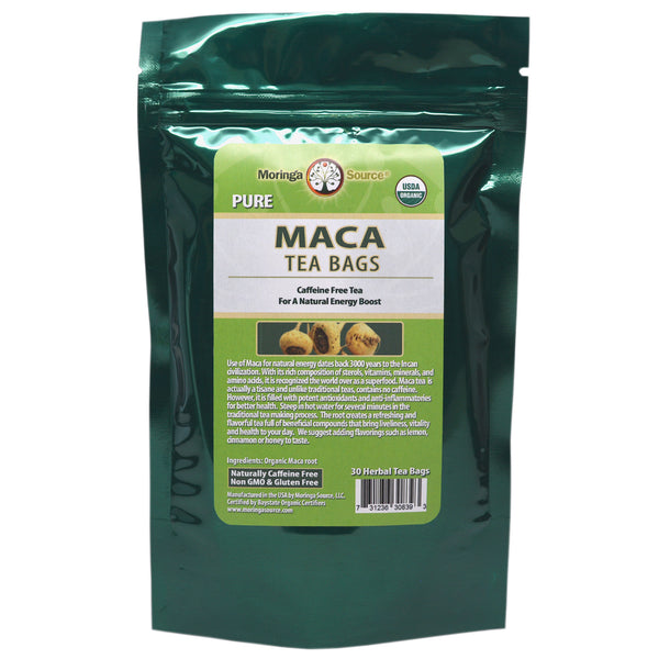 Nutritional Supplements - Maca Tea - 30 count - Moringa Source