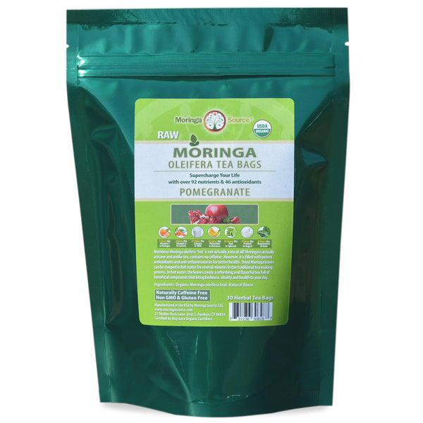Moringa Tea - Pomegranate - 30ct by Moringa Source