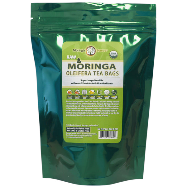 Nutritional Supplements - Moringa Tea - 60ct - Moringa Source