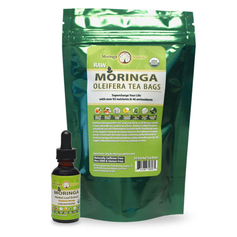 Nutritional Supplements - Moringa Tea and Extract - Moringa Source