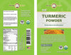 Turmeric Powder label by Moringa Source